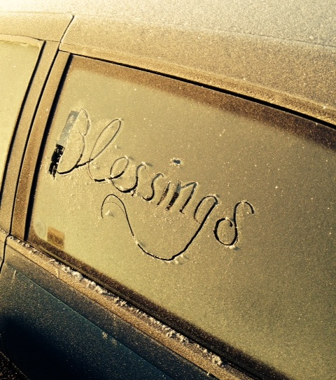 Blessings in frost
