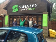 Swinley Bike Hub goodbyes