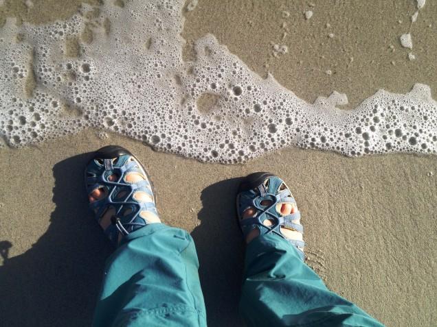 Reaching the sea
