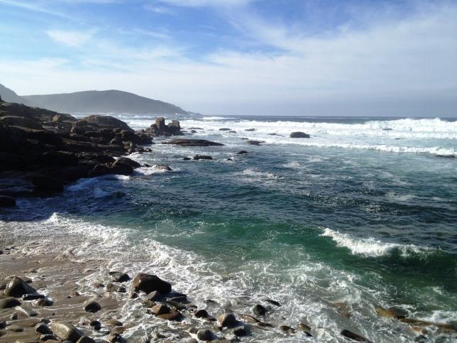Muxia - on the coast walk to Finisterre