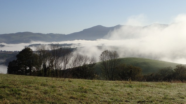 Early morning walk over the Pyrenees