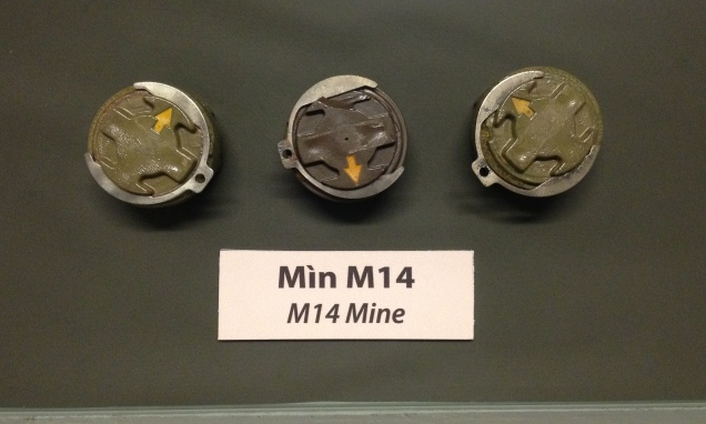 Mines from Vietnam war