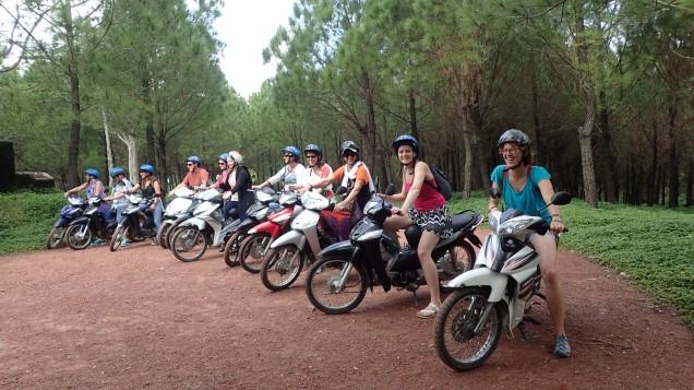 Motorbike driving, Vietnam