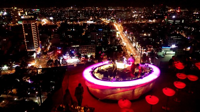 Sky deck, Ho Chi Minh