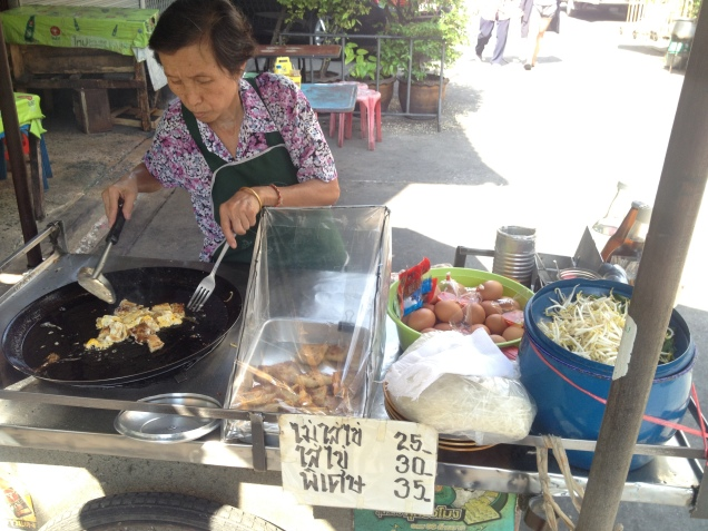 Fresh food from street stalls in Thailand