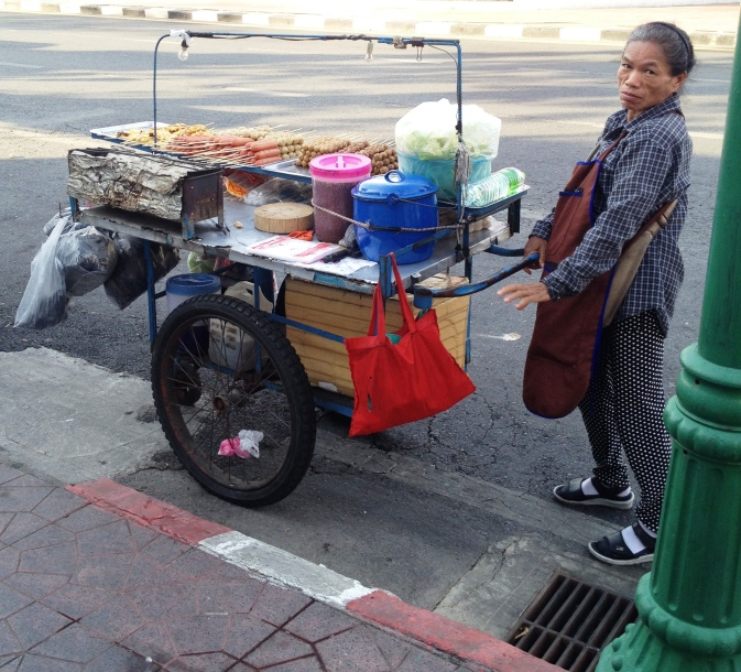Street food seller, Bangkok