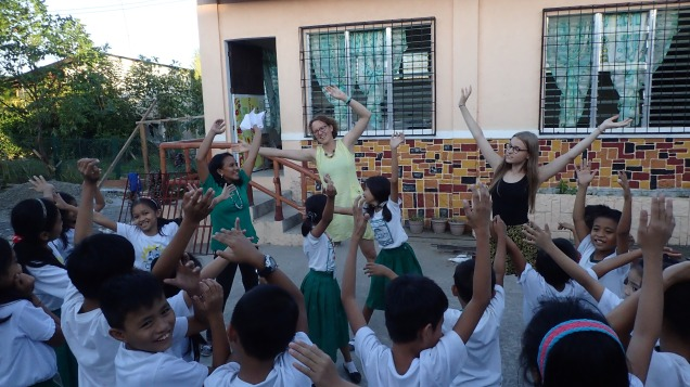 Teaching about trees, Philippines