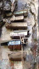 Hanging coffins in Sagada