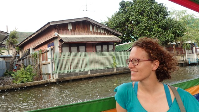 Boat ride through the Bangkok canals